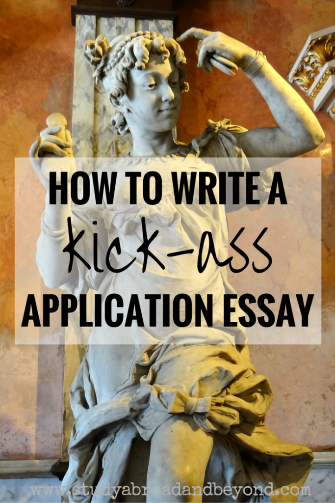 writing an application essay